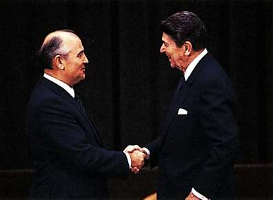 influenced conclusion cold war gorbachev reagan Classic review: the cold war  while the actions of mikhail gorbachev, ronald reagan, and pope john paul ii each contributed to the conflict's peaceful conclusion.